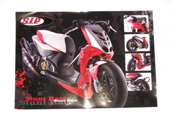 Poster SPEED FACTORY Werksteam, MBK Stunt Big Bore 86cc
