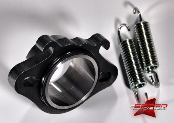 Flansch ROOST 86cc, Ø30mm, für Minarelli, inklusive O-Ringe und Federn