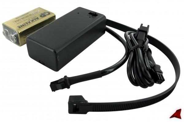 Batterie-Pack Stage6, 9V, zur Versorgung von Stage6 Drehzahlmesser, EGT und Power Test Instrumenten,