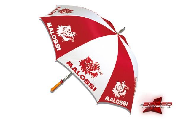 Regenschirm MALOSSI Paddock, rot-weiß