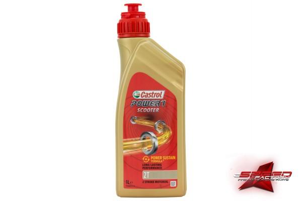Öl 2-Takt CASTROL POWER 1 Scooter 2T, teilsynthetisch